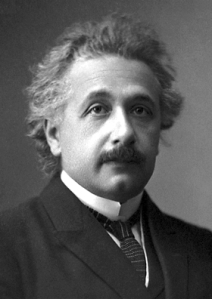 Einstein's Official Photo for Nobel Prize in Physics, 1921