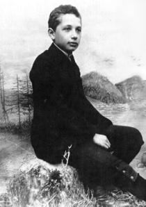 Einstein, age 14